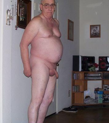 Older uncut chubby