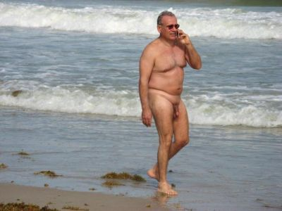 older beach nude men