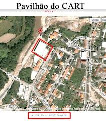 Localização do Pavilhão do CART