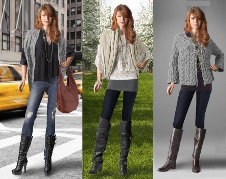 Kışlık Jean - Hırka Kombinasyonları