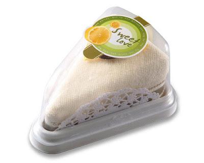 Ideias para chá de panela Toalha+bolo
