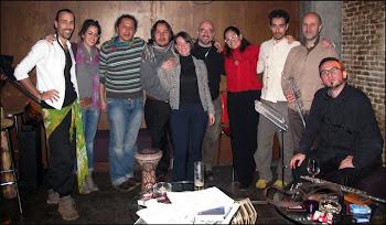 Jorge Coco Serrano, Maria Jose,Kostas KamakiJulio Medina Gimenes, Elisa Peña, Arin Dodó