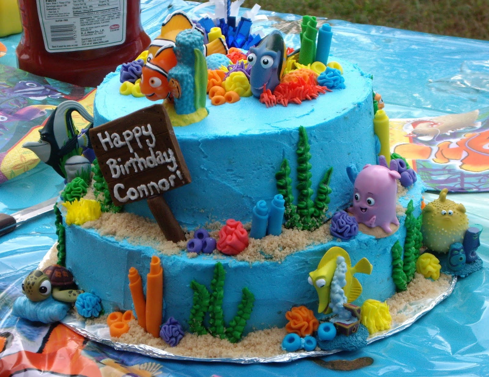 Custom Cakes By Christy Finding Nemo Cake