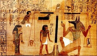 Capítulo 125. Libro de los Muertos. Papiro de Ani.