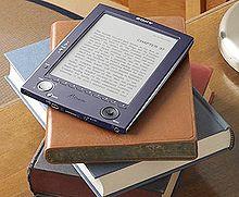 Un lector de libros electrónicos marca Sony.