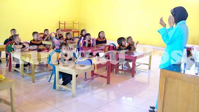 adalah Soal Uji Kompetensi Guru (UKG) untuk guru taman kanak-kanak (TK