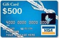 get a visa 500 gift card - 500 Visa Gift Card
