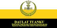 Menjunjung Kasih Kebawah DYMM Paduka Seri Sultan Perak