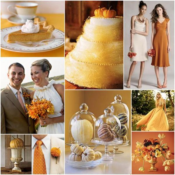 urn with pumpkin country living boutonniere martha stewart weddings