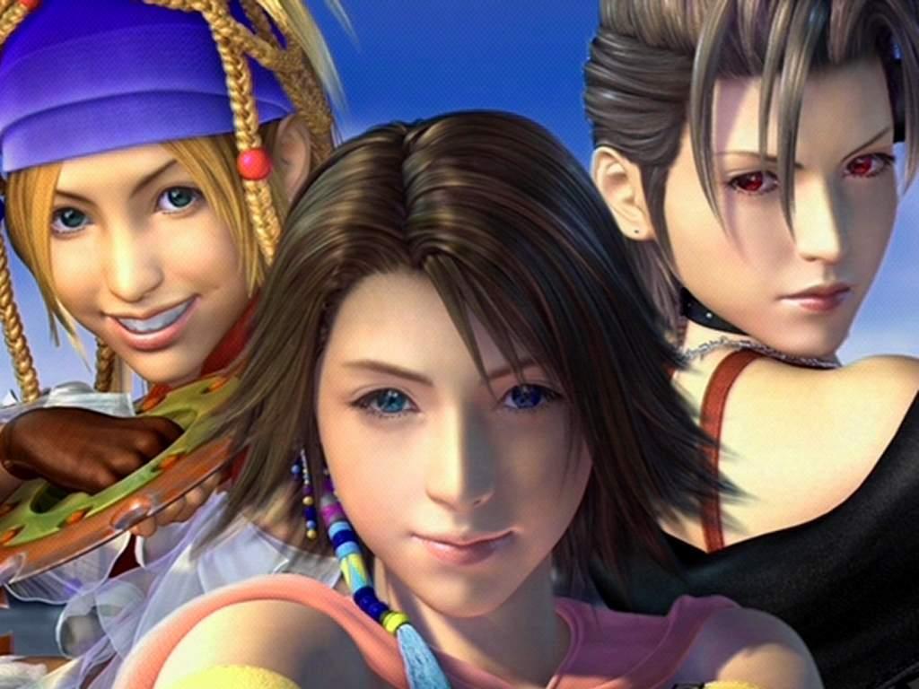 Final Fantasy X-2 - Rikku,Yuna,Paine
