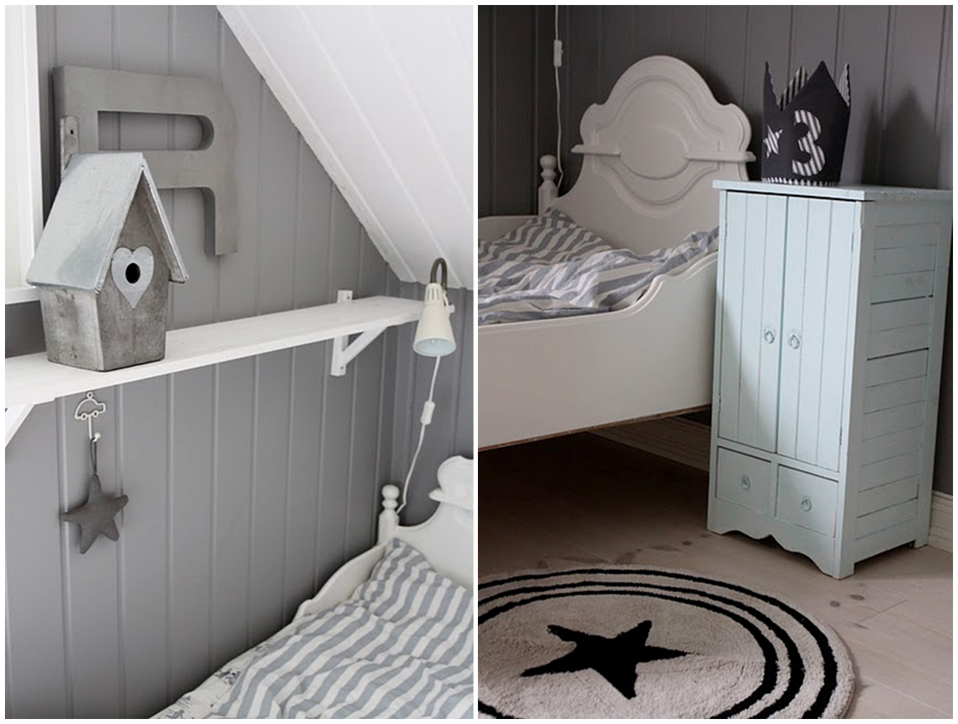 One lovely day scandinavian kids bedrooms for Scandinavian childrens bedroom