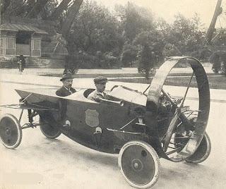 Leyat Helica Sport - a steampunk original car