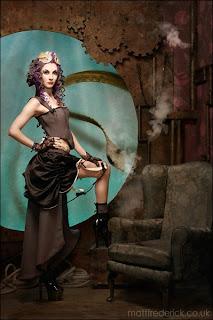 Steampunk - steampunk portrait by Matt Frederick