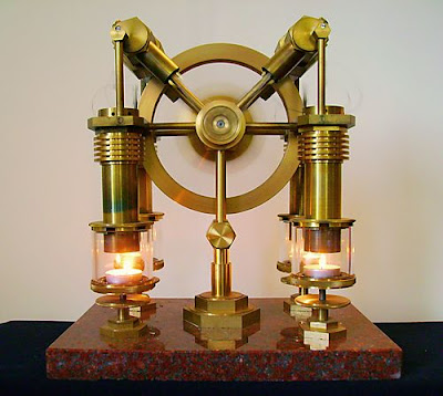 steampunk lamp by Art Donovan