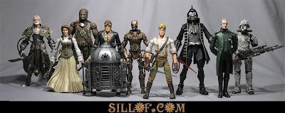 Sillof's steampunk action figures - star wars1