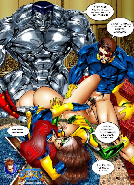 X Men Orgy