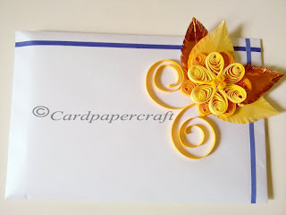 quilling envelope