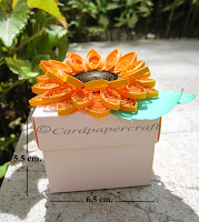 Sunflower Quilling Gift Box