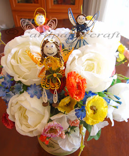 flower fairy quilled