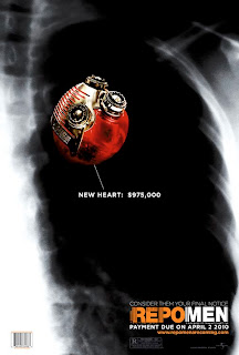 Repo Men Heart Poster