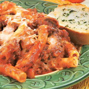Yummy-licious Dishes: Baked Ziti