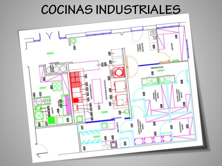 Dise o de restaurantes cocinas industriales ginna d az for Planos de cocina industrial