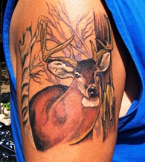 http://allaboutbodyart.blogspot.com/ deer_tattoo_arm_tattoo_half_sleeve_tattoo_for_men