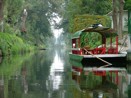 Tourism In Real Mexico English Version Xochimilco Canals Floating Gardens With Flowers
