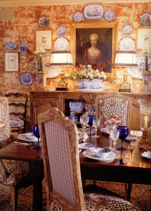 Welcome to bonnes amies charles faudree dining room for French country magazine online