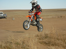 Preston on his Dirt Bike