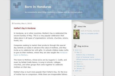Born in honduras blog