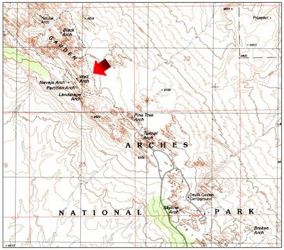 GIS Research and Map Collection: Maps of Arches National Park Reveal ...