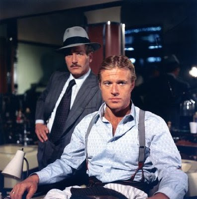 Paul Newman & Robert Redford. The Sting. 1973. photo Universal.