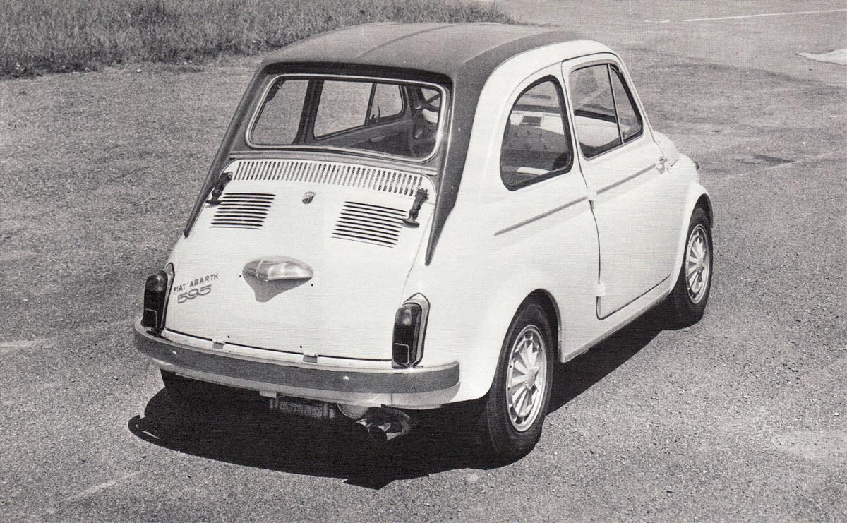 Abarth 595 Ss 1964