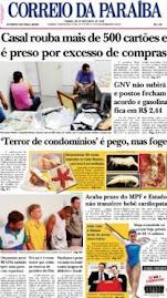 Texto sobre a eleição de Obama, publicado no caderno A do Jornal Correio da Paraiba (08/11/2008)