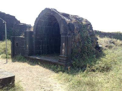 Kanhoji Angre's Memorial – Alibag Fort.