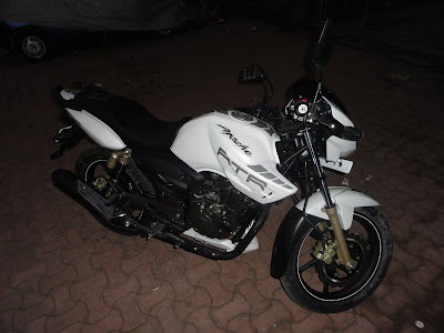 Apache RTR 180 White Beauty