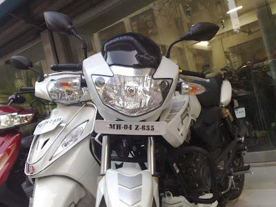 Apache RTR 180 White