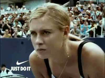 Sharapova on Sharapova Tennis  Mar  A Renueva Con Nike Por 8 A  Os
