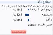 أغلبية الطلبة يقاطعون الدراسة خلال رمضان