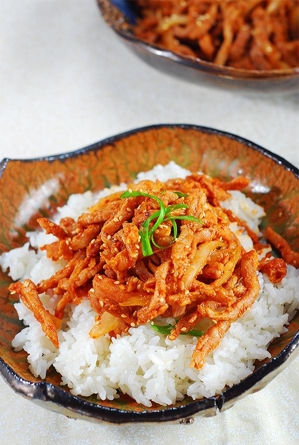 Korean Bbq Pork Daeji Bulgogi For Thanksgiving Dinner