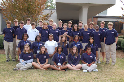 Forty Six Montgomery Catholic Students Participate in YMCA Youth Judicial 1