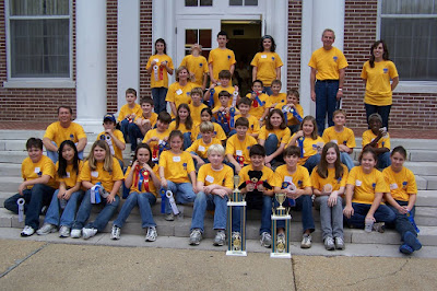 St. Bede Science Olympiad Teams Top State Competition at the University of West Alabama 1