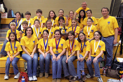 """""""St. Bede Science Olympiad Team Conquers Jacksonville Again"""" by Tara Bourke, St. Bede Sixth Grade Science Olympian 1"""