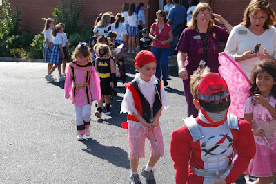 """St. Bede Students Celebrate """"All Hallows Eve"""" 1"""