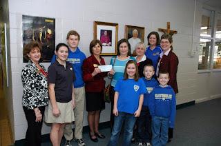 "Montgomery Catholic Students Raise $2,838 for COPE ""Bottles for Babies"" 1"