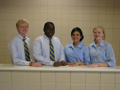 Middle School Elects SGA Officers 1