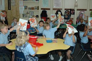 WSFA Visits Kindergarten at St. Bede 2