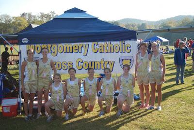 Catholic girls win Hoover cross country meet 1