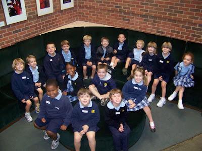 """Kindergarten Visits ASF for """"Charlotte's Web"""" 1"""